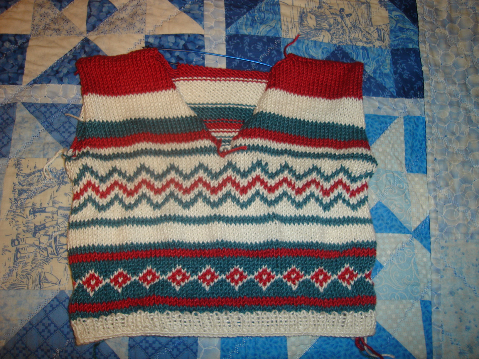 Toddler's Fair Isle Vest
