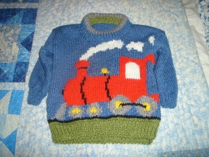 Train Jumper for Jaxon